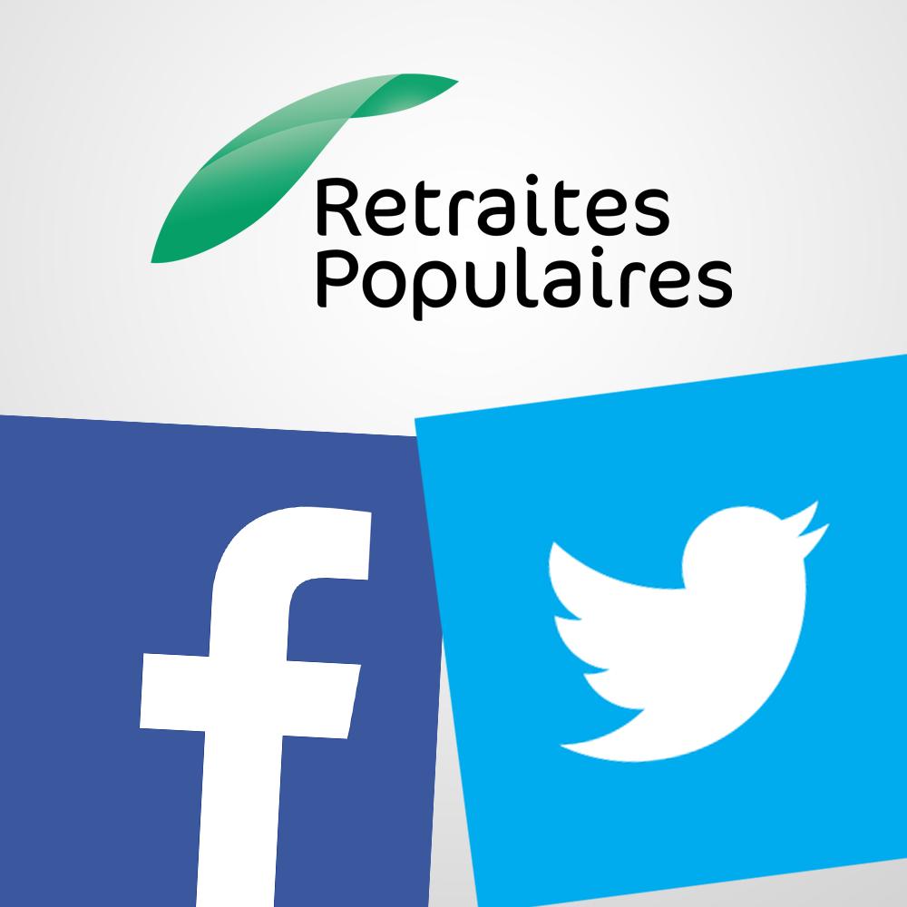 Retraites Populaires sur les réseaux sociaux
